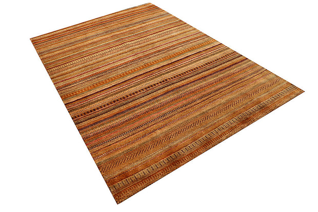 Multi Colored Gabbeh 5' 5 x 8' - No. 55919 - ALRUG Rug Store