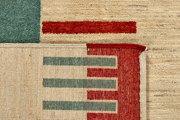 Multi Colored Gabbeh 5' 6 x 8' 1 - No. 55938 - ALRUG Rug Store