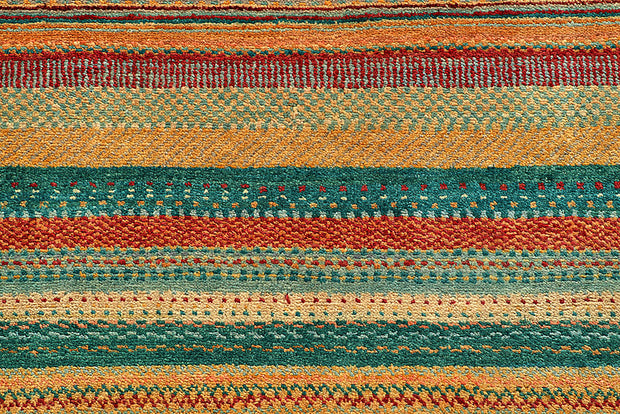 Multi Colored Gabbeh 5' 3 x 7' 11 - No. 55945 - ALRUG Rug Store