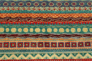 Multi Colored Gabbeh 5' 8 x 8' 4 - No. 55953 - ALRUG Rug Store