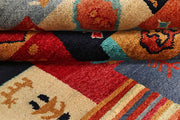Multi Colored Gabbeh 6' 7 x 8' 3 - No. 55965 - ALRUG Rug Store