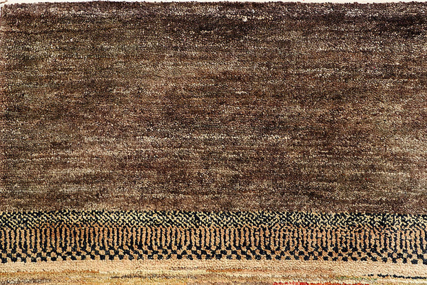Multi Colored Gabbeh 6' 4 x 6' 4 - No. 55967 - ALRUG Rug Store