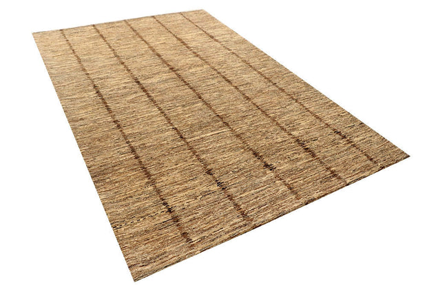 Wheat Gabbeh 6' x 9' 1 - No. 55968 - ALRUG Rug Store