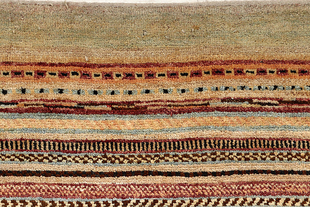 Multi Colored Gabbeh 6' 7 x 8' 7 - No. 56006 - ALRUG Rug Store