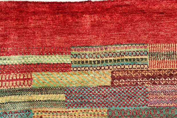 Multi Colored Gabbeh 8' 1 x 11' 4 - No. 56038 - ALRUG Rug Store