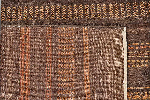 Saddle Brown Gabbeh 8' 10 x 11' 11 - No. 56130 - ALRUG Rug Store