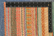 Multi Colored Gabbeh 9' 1 x 11' 7 - No. 56135 - ALRUG Rug Store