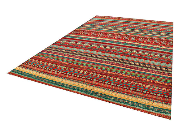 Multi Colored Gabbeh 8' x 11' 9 - No. 56136 - ALRUG Rug Store