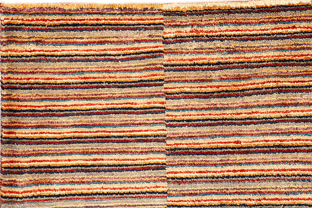 Multi Colored Gabbeh 8' 4 x 11' - No. 56138 - ALRUG Rug Store