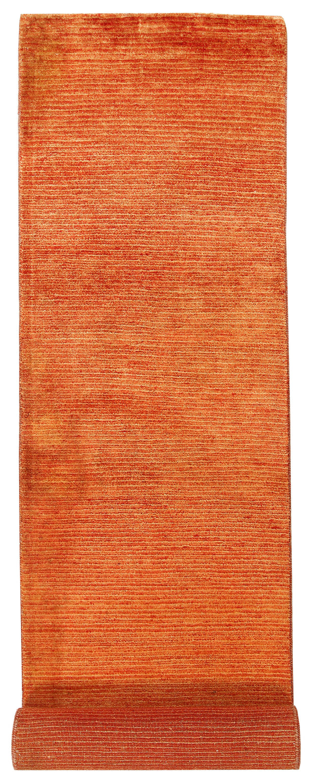 Dark Orange Gabbeh 2' 3 x 10' 5 - No. 56199 - ALRUG Rug Store