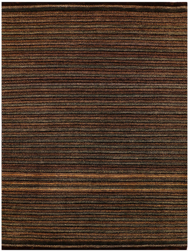 Saddle Brown Gabbeh 5' 7 x 7' 8 - No. 56568 - ALRUG Rug Store