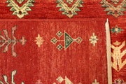 Orange Red Gabbeh 8' 2 x 11' 3 - No. 56596 - ALRUG Rug Store