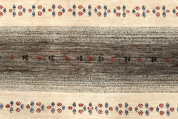 Multi Colored Gabbeh 5' 6 x 8' 5 - No. 56690 - ALRUG Rug Store