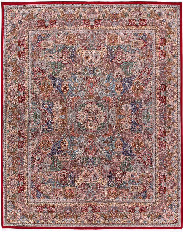 Multi Colored Bakhtiar 8' x 10' - No. 57076 - ALRUG Rug Store