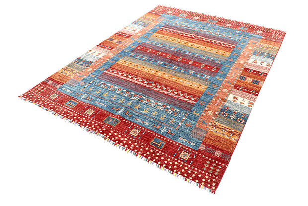 Multi Colored Oushak 5' 7 x 7' 8 - No. 57443 - ALRUG Rug Store