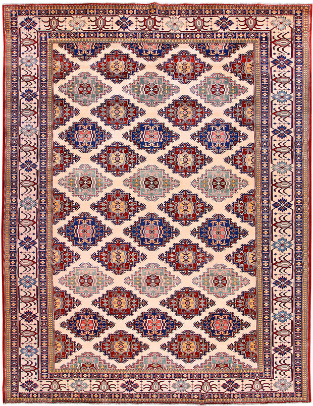 Blanched Almond Shirvan 7' 5 x 9' 6 - No. 57803 - ALRUG Rug Store