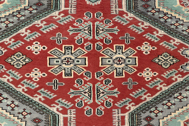 Indian Red Caucasian 8' 2 x 11' 4 - No. 58523 - ALRUG Rug Store