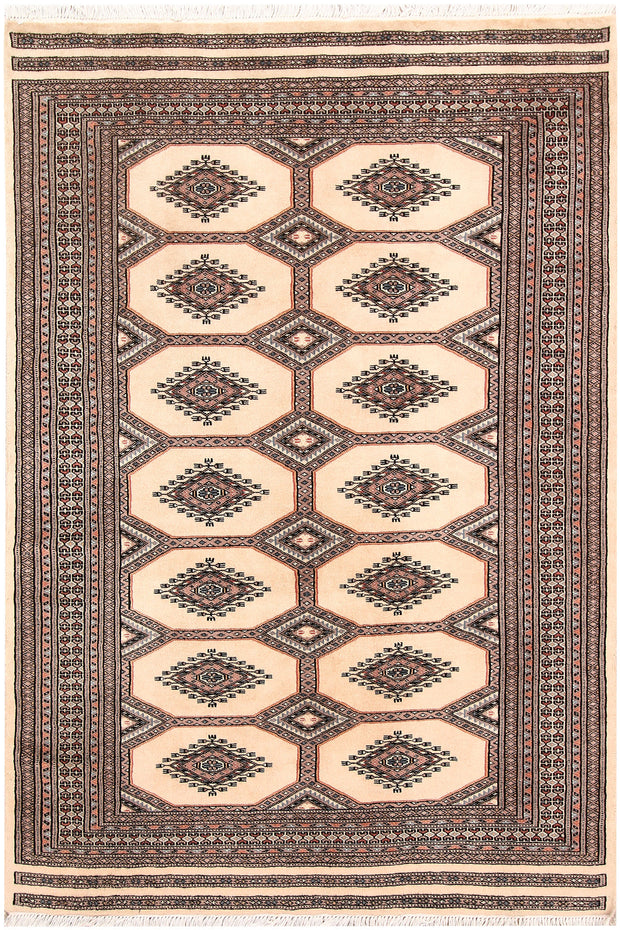 Blanched Almond Jaldar 4' 2 x 6' 1 - No. 58632 - ALRUG Rug Store