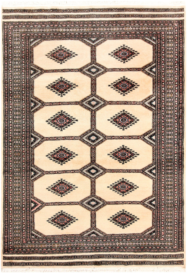 Blanched Almond Jaldar 4' 9 x 6' 9 - No. 58704 - ALRUG Rug Store