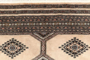Blanched Almond Jaldar 4' 8 x 6' 7 - No. 58713 - ALRUG Rug Store
