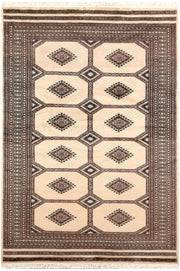 Blanched Almond Jaldar 4' 6 x 6' 7 - No. 58716 - ALRUG Rug Store