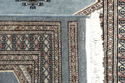Light Slate Grey Jaldar 2' 7 x 6' 3 - No. 58734 - ALRUG Rug Store