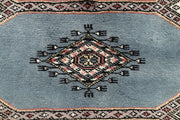 Light Slate Grey Jaldar 2' 6 x 10' - No. 58777 - ALRUG Rug Store