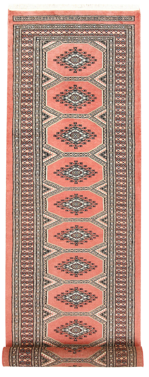 Light Salmon Jaldar 2' 4 x 9' - No. 58936 - ALRUG Rug Store