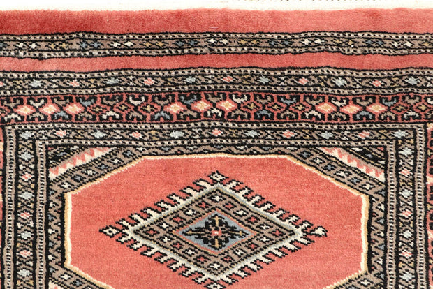 Light Salmon Jaldar 2' 4 x 9' 1 - No. 58949 - ALRUG Rug Store