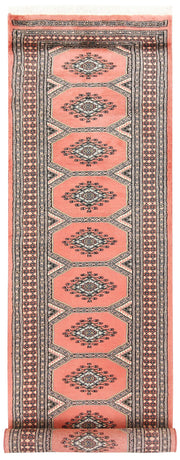 Light Salmon Jaldar 2' 5 x 9' 8 - No. 58953 - ALRUG Rug Store