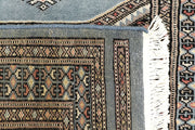Light Steel Blue Jaldar 2' 4 x 9' 7 - No. 58961 - ALRUG Rug Store