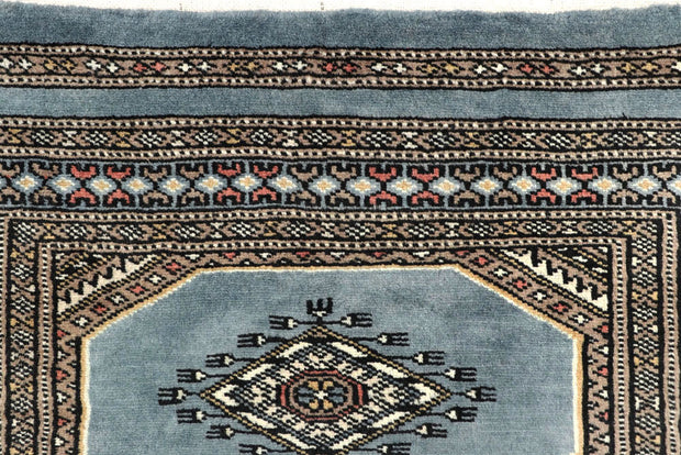 Light Slate Grey Jaldar 2' 4 x 9' - No. 58973 - ALRUG Rug Store