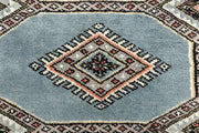 Light Slate Grey Jaldar 2' 4 x 9' 5 - No. 58981 - ALRUG Rug Store