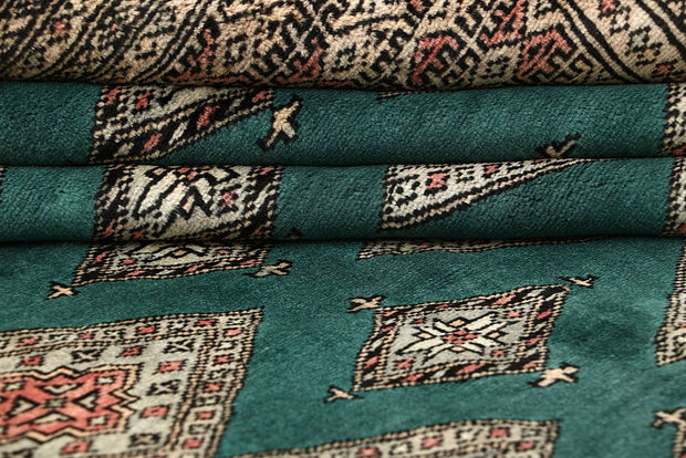 Sea Green Jaldar 8' x 11' 2 - No. 59132 - ALRUG Rug Store
