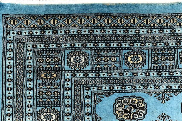 Light Sky Blue Bokhara 6' 8 x 10' 4 - No. 59285 - ALRUG Rug Store