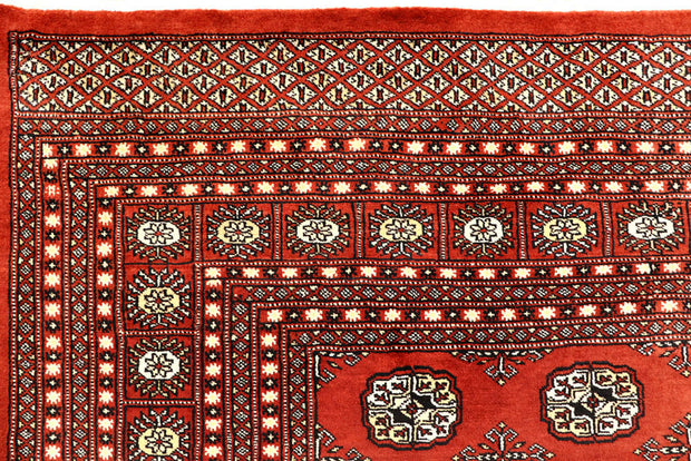 Orange Red Bokhara 8' x 10' 2 - No. 59441 - ALRUG Rug Store
