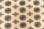 Blanched Almond Bokhara 7' 11 x 12' 2 - No. 59540 - ALRUG Rug Store