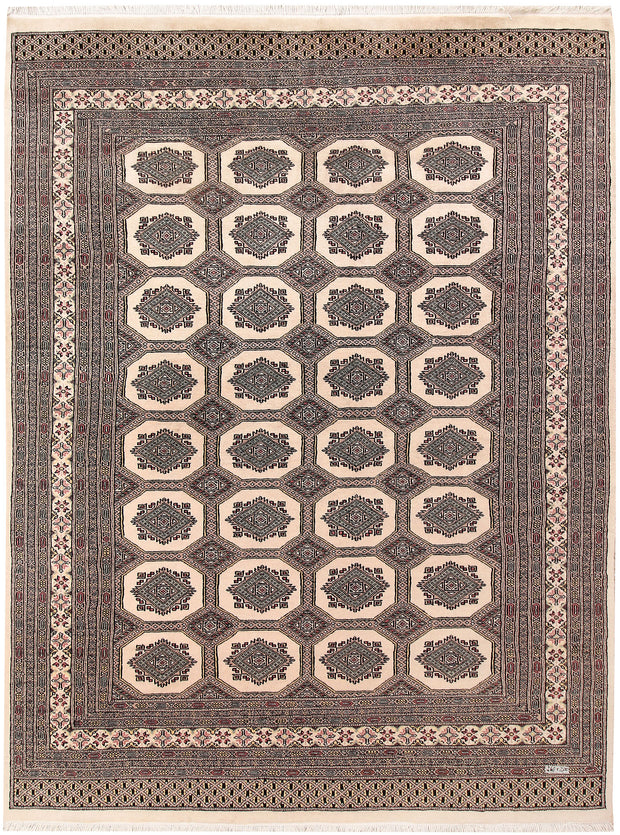 Blanched Almond Jaldar 6' 7 x 8' 8 - No. 59677 - ALRUG Rug Store