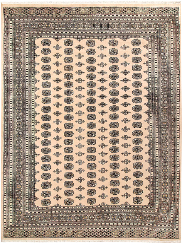 Blanched Almond Bokhara 9' 2 x 12' - No. 59854 - ALRUG Rug Store