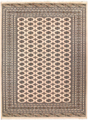 Blanched Almond Bokhara 9' x 12' 3 - No. 59856 - ALRUG Rug Store