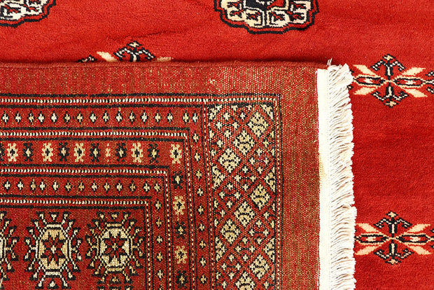 Orange Red Bokhara 9' x 12' - No. 59909 - ALRUG Rug Store
