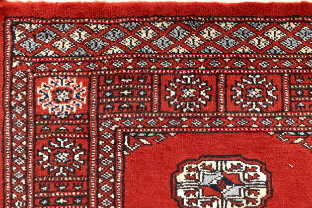 Orange Red Bokhara 2' 7 x 14' 1 - No. 60016 - ALRUG Rug Store