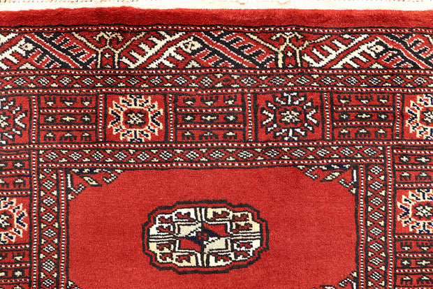 Orange Red Bokhara 2' 6 x 14' - No. 60039 - ALRUG Rug Store