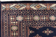 Midnight Blue Butterfly 6' x 9' 1 - No. 60243 - ALRUG Rug Store