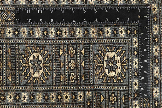 Light Slate Grey Bokhara 5' 11 x 8' 7 - No. 60250 - ALRUG Rug Store