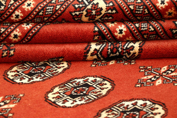 Orange Red Bokhara 5' 1 x 8' 1 - No. 60394 - ALRUG Rug Store
