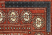 Orange Red Bokhara 5' 7 x 8' 9 - No. 60512 - ALRUG Rug Store