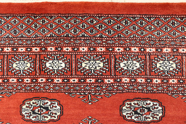 Orange Red Bokhara 5' 8 x 7' 3 - No. 60614 - ALRUG Rug Store