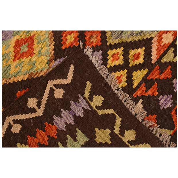 Vegetable Kilim 4' 9 x 6' 3 (ft) - No. AL19098 - ALRUG Rug Store