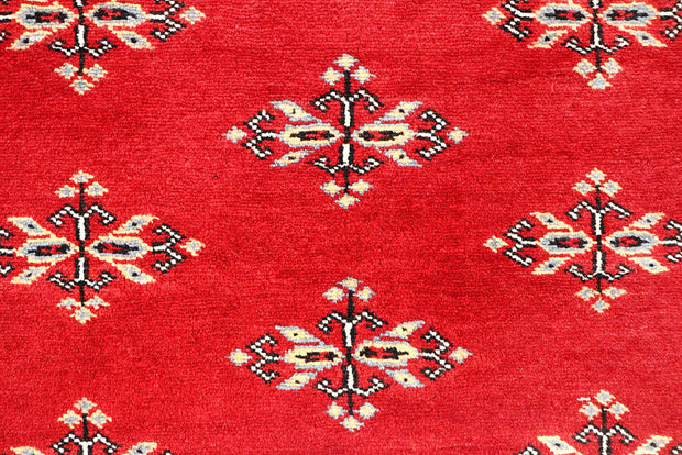 Red Butterfly 4' 2 x 6' 3 - No. 60986 - ALRUG Rug Store